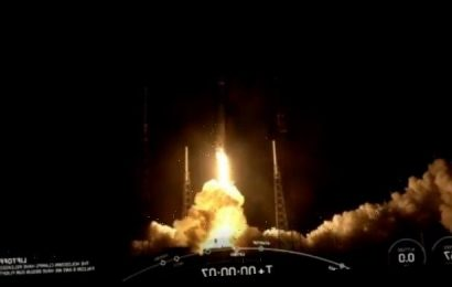 Elon Musk launches 58 SpaceX 'internet satellites' in historic mission