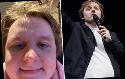 Lewis Capaldi reveals he's put on a stone in lockdown as he vows to take action and lose his 'love handles'