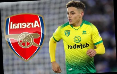 Arsenal join rivals Tottenham in transfer race for Norwich right-back Max Aarons but refuse to pay £30m valuation – The Sun