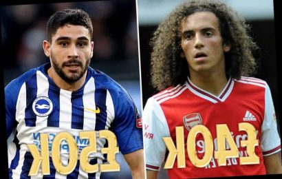 Guendouzi 'brags about £40k-a-week Arsenal wages' but FIVE Brighton players including bitter rival Maupay earn more – The Sun