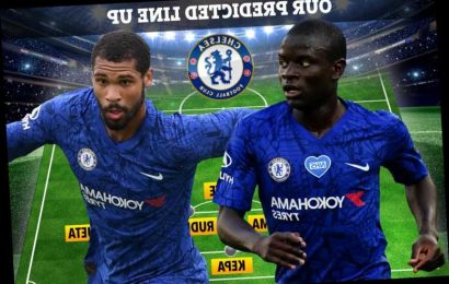 How Chelsea will line-up at West Ham with Gilmour experiment not working and Kante playing in a holding midfield role