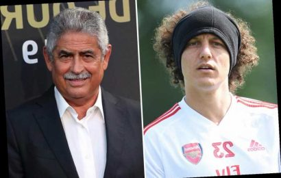 David Luiz about to sign new Arsenal contract, confirms Benfica president with £130k-a-week star set to take pay cut – The Sun