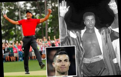 Top 10 greatest ever sportsmen revealed including Muhammad Ali and Tiger Woods but no Cristiano Ronaldo or Mayweather – The Sun