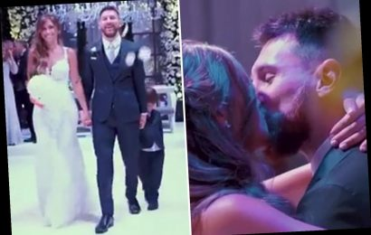 Inside Lionel Messi's star-studded wedding as wife Antonela shares romantic clip on pair's three-year anniversary – The Sun