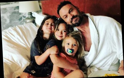Brian Austin Green spends Father's Day with sons after Megan Fox split