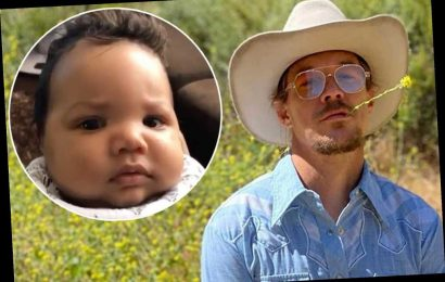 Diplo didn't get to spend Father's Day with new baby