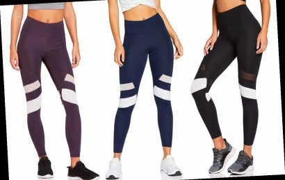 These Quick-Dry Leggings Are 'Ideal for Working Out,' and They're Only $17 Right Now