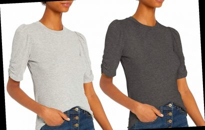 There's a Tiny Detail on the Sleeves of This $16 T-Shirt That Shoppers Love
