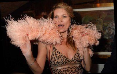 Reformed party animal Kate Moss now in bed by 11 p.m. every night