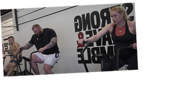 Watch The Mountain Get Wrecked by a CrossFit Workout with Annie Thorisdottir