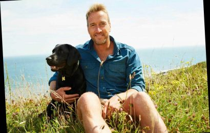How old is Ben Fogle, when did he marry his wife Marina Hunt and what TV shows has he presented?