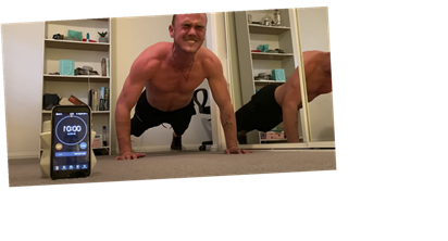 """Watch This Guy Attempt the 1-Rep """"Impossible Pushup"""""""