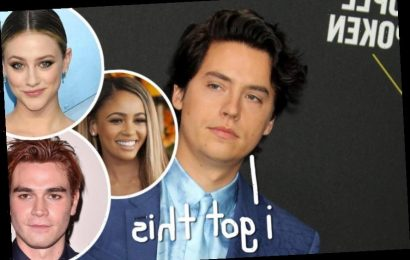Cole Sprouse Defends <i>Riverdale</i> Co-Stars Against 'False' Sexual Assault Allegations