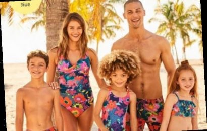 Next is selling matching family swimwear from just £7 & it's perfect for the heatwave