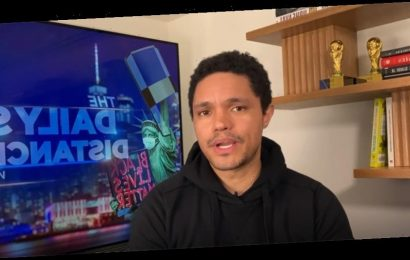 Trevor Noah And The Daily Social Distancing Show Finds The Funny In COVID-19's Return