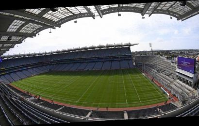 Croke Park could accommodate up to 42,000 under social distancing guidelines