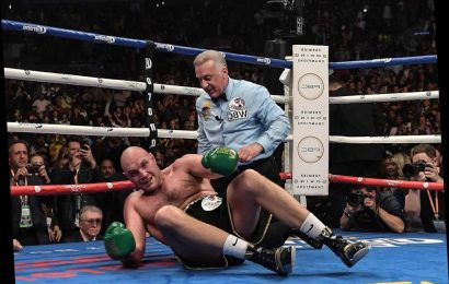Three minutes, two punches, one moment: Remembering when Tyson Fury got back to his feet