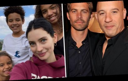 Paul Walker's daughter Meadow shares rare heartwarming photo with Vin Diesel's children