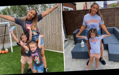 Jacqueline Jossa launches mum and mini me Disney Collection of t-shirts with In The Style