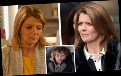Coronation Street actress Jane Danson speaks out amid 'tough' Leanne and Oliver scenes
