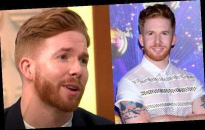 Neil Jones: 'Don't tell anyone' Strictly pro urges comedian to keep quiet after confession