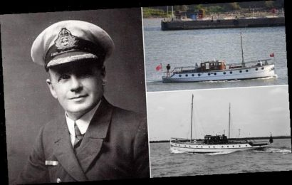 Dunkirk 'Little Ship' which rescued 130 troops is sold for £40,000