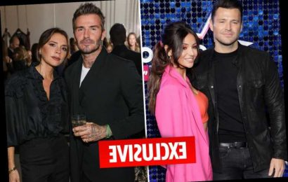 Multi-millionaires Mark Wright and Michelle Keegan take on Posh and Becks as they plan fashion brand together