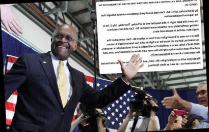 Is Herman Cain still in the hospital?