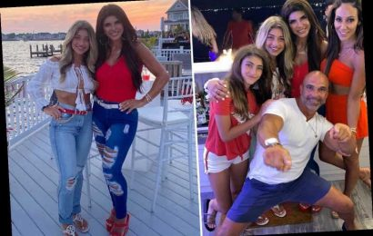 RHONJ's Teresa Giudice hits the Jersey Shore with her daughters and sister-in-law Melissa Gorga as filming resumes – The Sun