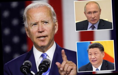 Biden says Russia and China are trying to meddle in the 2020 election