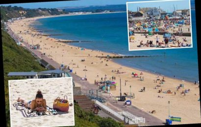 UK weather – Brits pack onto beaches to soak up the sun as mini-heatwave hits UK this week