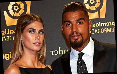 Stunning TV presenter Melissa Satta-Boateng is the wife of ex-Spurs star Kevin-Prince Boateng