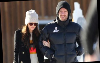 How long have Dakota Johnson and Chris Martin been dating? – The Sun