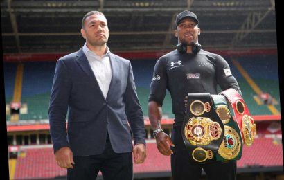 Peter Fury warns 'famous' Joshua his world titles could 'slip from him again' unless he 'takes chances' against Pulev