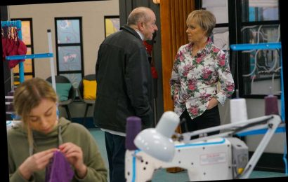 Coronation Street spoilers: Tim catches dad Geoff Metcalfe turning nasty on Sally