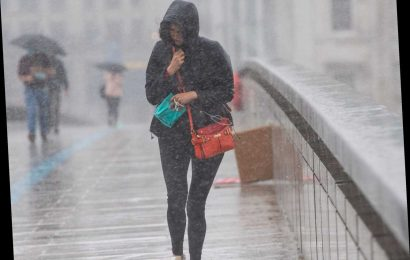 UK weather – Heavy rain set to washout 'Super Saturday' celebrations with a month of showers in 24 hours