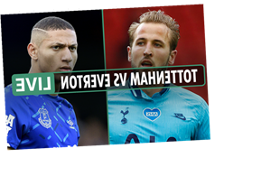 Tottenham vs Everton: Live stream, TV channel, kick-off time and team news for TODAY's Premier League clash