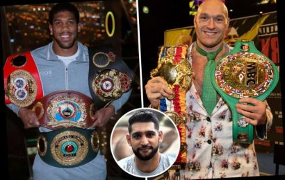Tyson Fury should 'easily beat' Anthony Joshua says Amir Khan, who breaks down the epic fight-to-be – The Sun