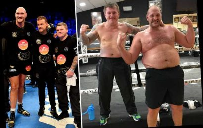 Hatton hails 'inspiration' Tyson Fury for shedding ten stone and 'turning life around' after spiralling into depression