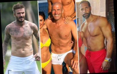 From David Beckham to Paolo Maldini, the football legends who have kept incredible body physiques after retirement