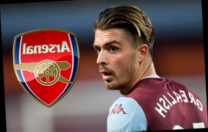 Arsenal join Jack Grealish transfer race with Aston Villa demanding £80m fee while Man Utd cool their interest