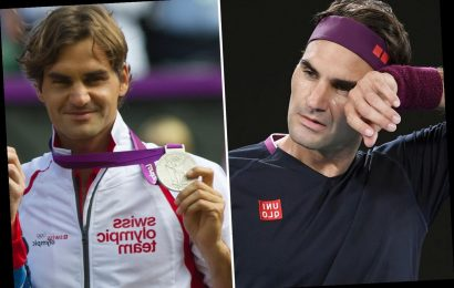 Roger Federer hints at retirement and admits 'I'm at end of my career' at 38 but targets one last Olympic gold medal