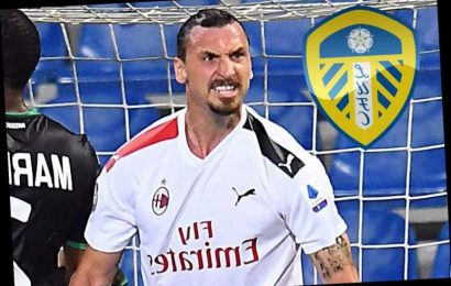 Zlatan Ibrahimovic admits new AC Milan deal is unlikely as promoted Leeds target veteran superstar