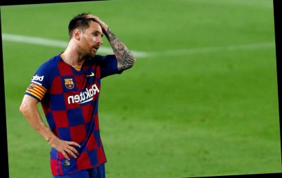 Lionel Messi ranked only SECOND best player at Barcelona by Marca with £108m flop Antoine Griezmann in 18th place