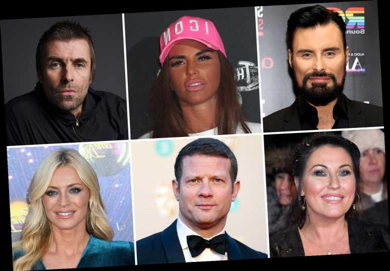 From Rylan to Katie Price, Dermot O'Leary, and Liam Gallagher – celebrities' real names revealed