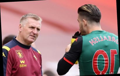 Smith vows to take Villa hero Jack Grealish out on the lash before opening talks on Man Utd transfer target's future