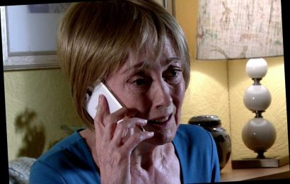 Coronation Street spoilers: Geoff Metcalfe terrifies ex Elaine with a sinister threat to stop her helping free Yasmeen