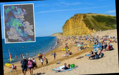 UK weather tomorrow – Britain to be lashed with torrential rain after 25C sunshine scorcher