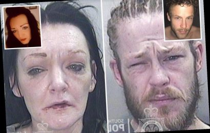 Shocking before and after photos show haggard faces of crack dealers, aged 30s, as they are jailed