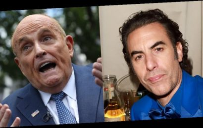 Rudy Giuliani Says He Called the Cops on Sacha Baron Cohen After Alleged Prank